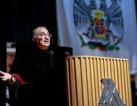 Este lunes, la Facultad de Derecho de la Universidad La Salle tuvo su Cátedra Prima impartida por el Ministro Alberto Pérez Dayán..